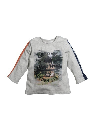 Zeyland Baskılı Sweatshirt (12ay-4yaş) Baskılı Sweatshirt (12ay-4yaş) Gri